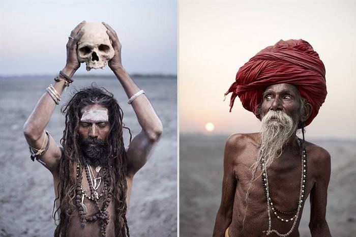 Arresting Sadhus Portrait Photography Religious Photography: BONJOUR MES AMIS: Powerful Portraits Of Religious Ascetics